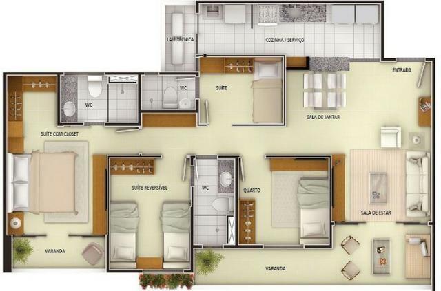 AP1158 Edifício Torres Câmera 2, apartamento na Aldeota, novo, pronto para morar, 3 suítes - Foto 13