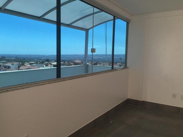 Apartamento Cobertura Condomínio RK 01 suíte, Varanda