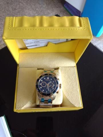 Relógio invicta pro diver 0073 18k