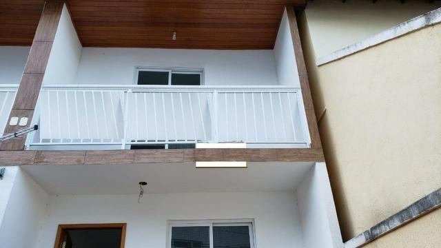 Casa miuto bem localizada duplex 1a locaçao 2 qts com varandas quintal 2 vgs - Foto 4