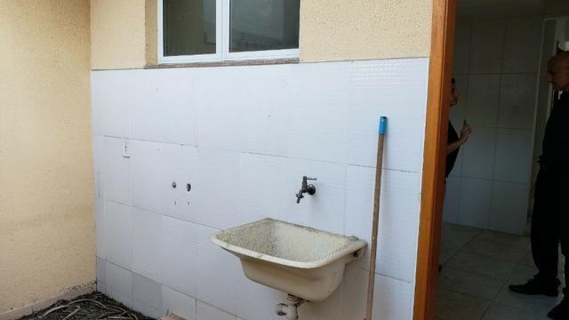 Casa miuto bem localizada duplex 1a locaçao 2 qts com varandas quintal 2 vgs - Foto 19