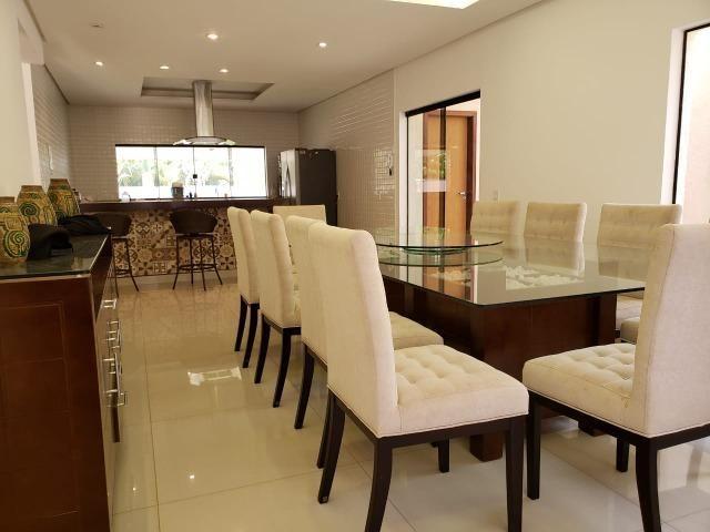 Samuel Pereira oferece: Mansão Moderna Vicente Pires 3 Piscinas 5 Suites Churrasqueira - Foto 9