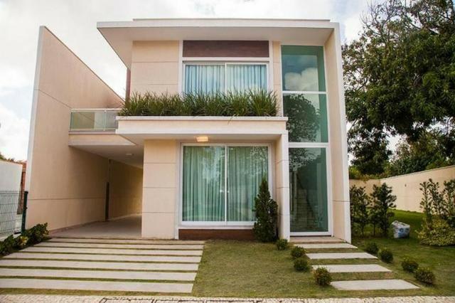 Casa no Cond. Carmel Bosque na Sapiranga - 186m² - 3 Suítes - 3 Vagas (CA0163)