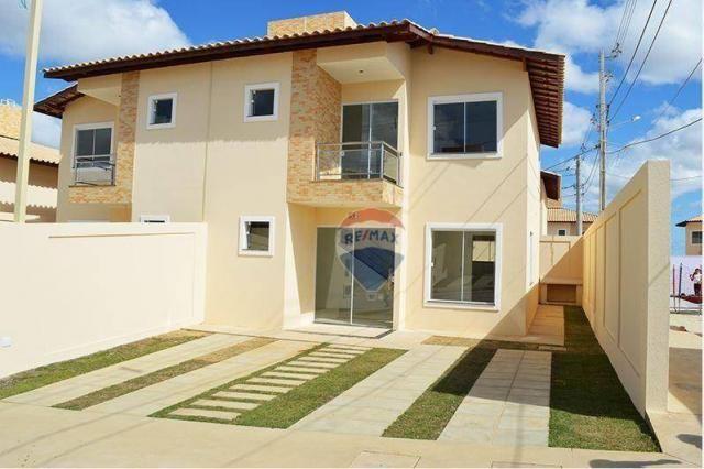 Casa duplex em novo bairro da cidade