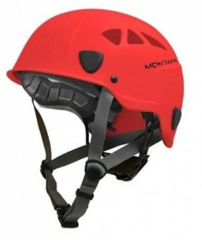 Capacete alpinista vermelho Montana Focus Pro