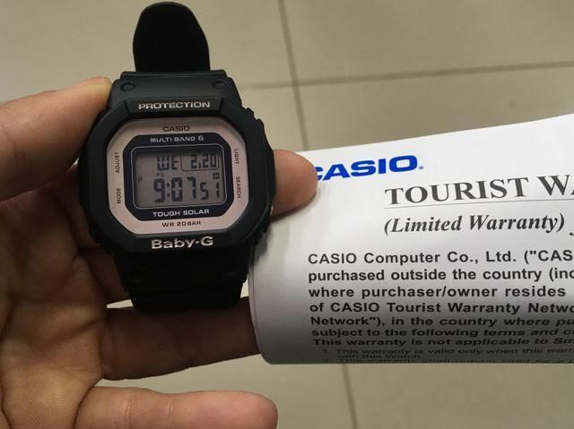 4660c5f067f Relógio CASIO Protection Baby-G - Bijouterias