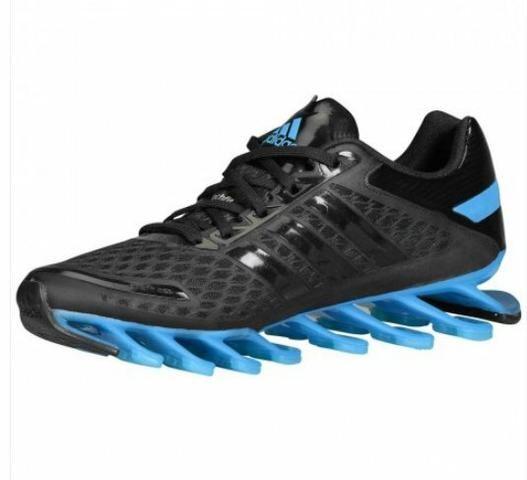 Tênis Adidas Springblade Razor Masculino Preto e Azul n°44 - Roupas ... 6e9b0cc183170