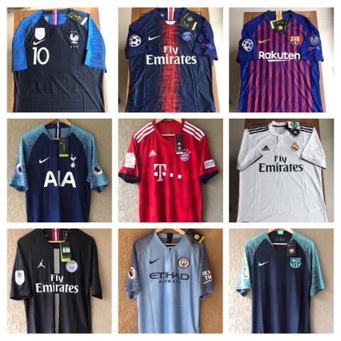 Camisas Europa Originais Jogador - Aceito Cartão - Esportes e ... 8660115af40e3