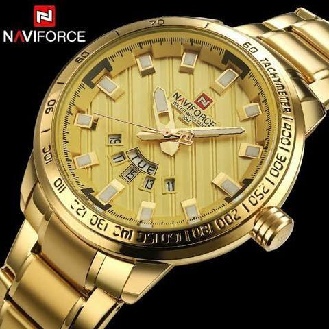 2829042ba4e Relógio Original a Prova D água Naviforce Luxo - Novo com Caixa e Garantia