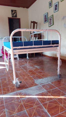 Cama Hospitalar + Colchão
