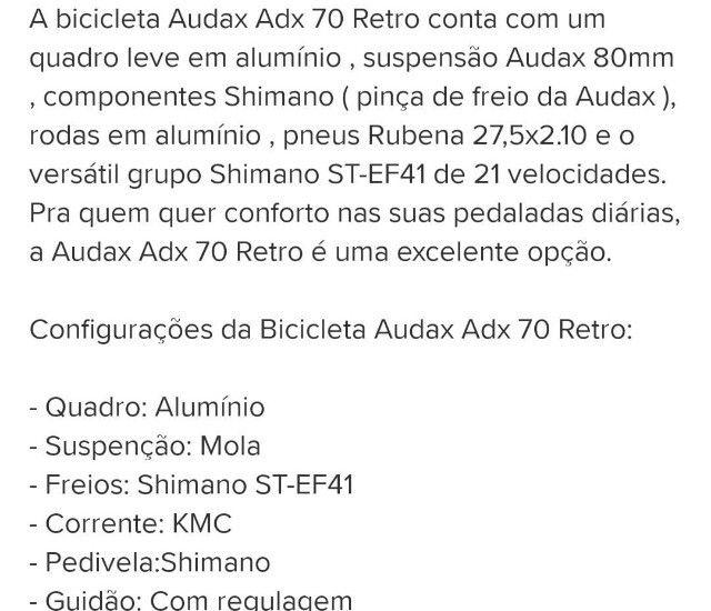Bicicleta Audax 70 - Foto 2