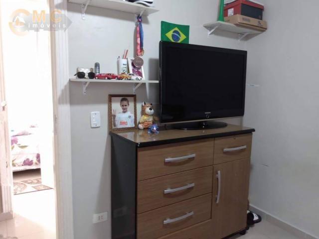 Apartamento com 3 dormitórios à venda, 50 m² por R$ 175.000 - Vila Padre Manoel de Nóbrega - Foto 13