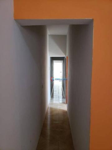 Casa com 2 dormitórios para alugar, 90 m² por R$ 1.200/mês - Parque Gabriel - Hortolândia/ - Foto 4