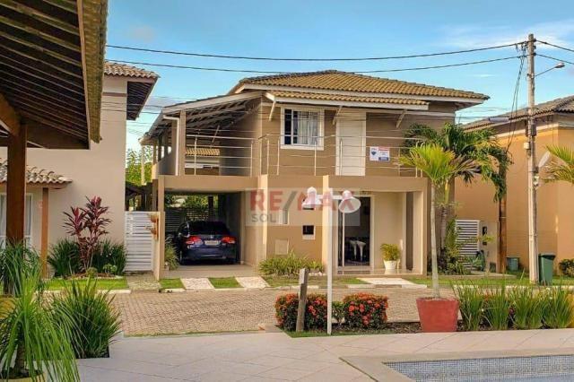 Casa 4 Quartos - Condomínio Porto Sol Residencial Clube-Catu de Abrantes - Camaçari/Bahia - Foto 2