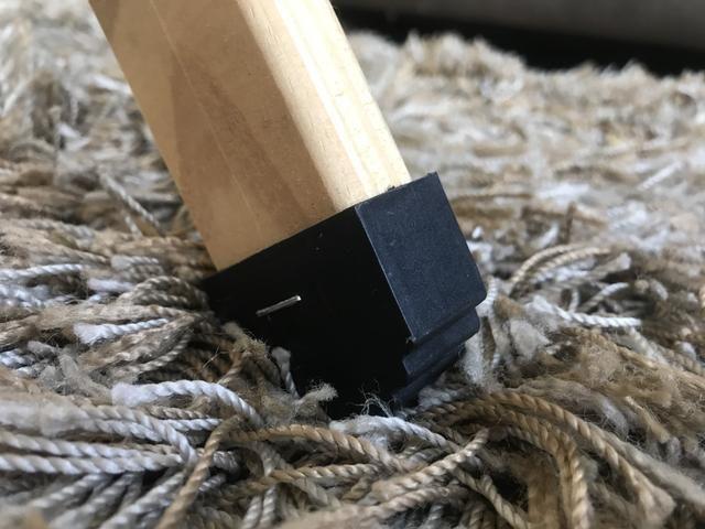 Tábua de passar roupa dobrável madeira pinus Tramontina - Foto 4