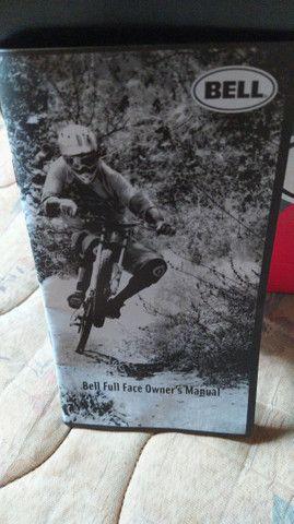 Capacete para bike Downhill - Foto 4