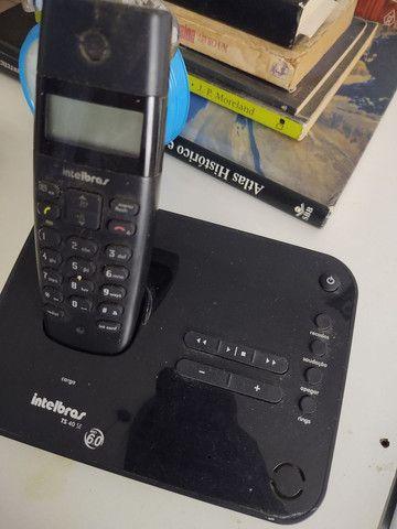 Telefone sem fio secretária