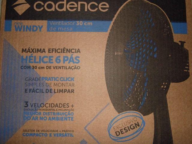 Cadense o melhor ventilador 30cm 110v 6 pás produto novo entregamos em P.Alegre-rs - Foto 2