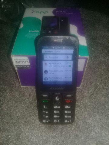 Celular zero da Multilaser tem whatsapp - Foto 3
