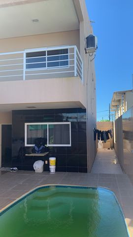 Casa primeiro andar com 3 suítes - Foto 2