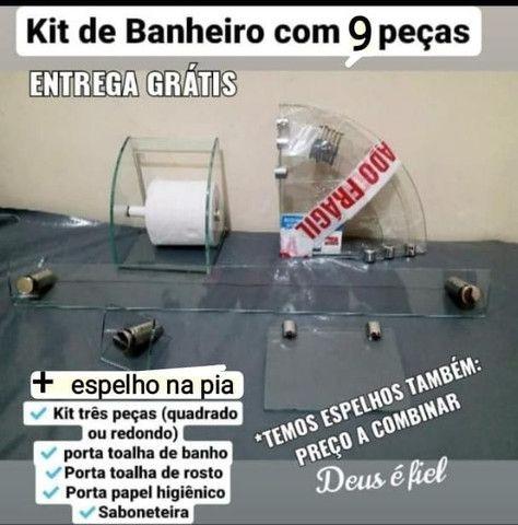 Kit para Banheiro 9 peças - Foto 6