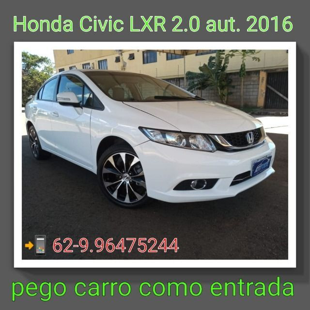 Honda civic 2.0 LXR automático (2016)