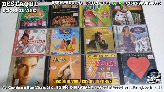 Discos de Vinil, CDs e DVDs, vários preços e gêneros - Foto 4