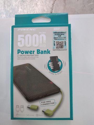 Carregador portátil 5000 mah original 65,00 $ - Foto 2