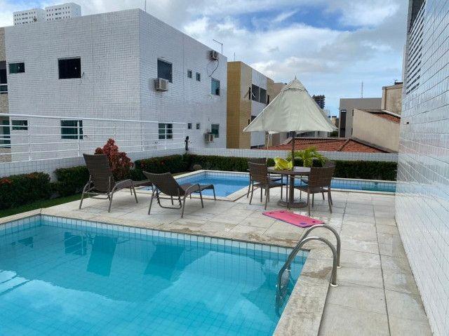 Apartamento alto padrão de 126m2 no Bessa prox a praia - Foto 3