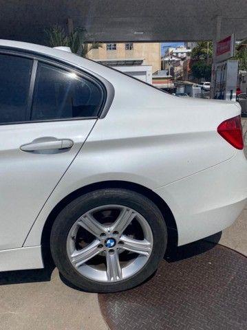 BMW 320i apenas 65.000 km branco pérola 2014 - Foto 17