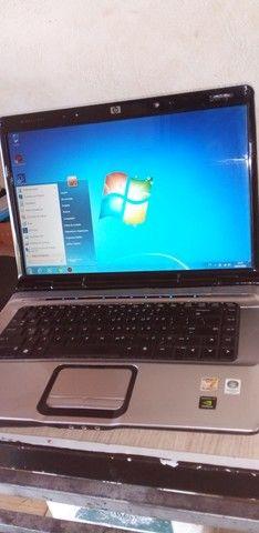 Notebook  hp  defeito no hd  pra vender rapido  - Foto 3