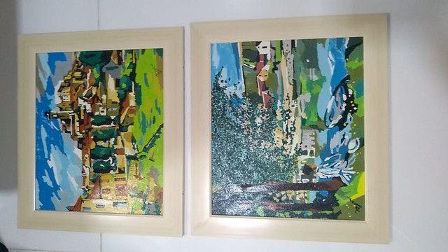 Quadros pintados á mão - Foto 2