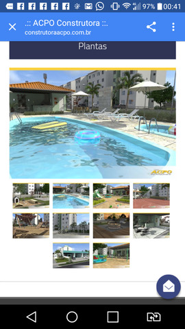 Apartamento condomínio térreo PNE Life Clube Fragata