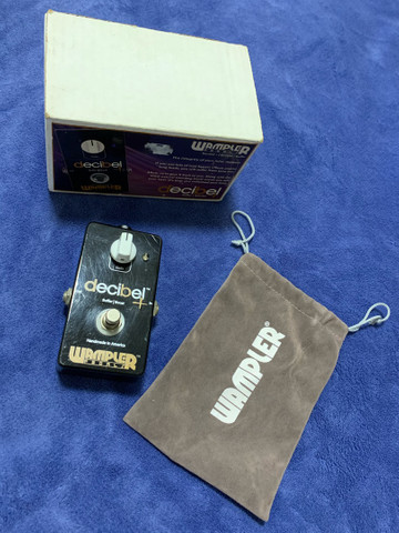 Pedal Booster - Wampler Decibel Buffer Boost - Made In Usa - Foto 4