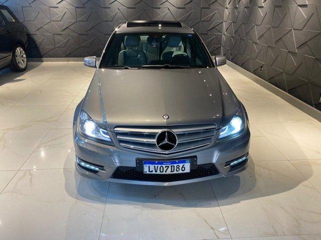 Mercedes-Benz C250 CGI SPORT 1.8 16V TB Automático 2013/2013 configuração Linda  - Foto 3