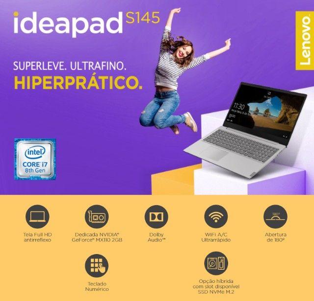 Notebook Lenovo Ideapad S145 i7 8GB - 512 gb ssd  + 1 tb  , 15,6? Nvidea GeForce MX110 2GB - Foto 6