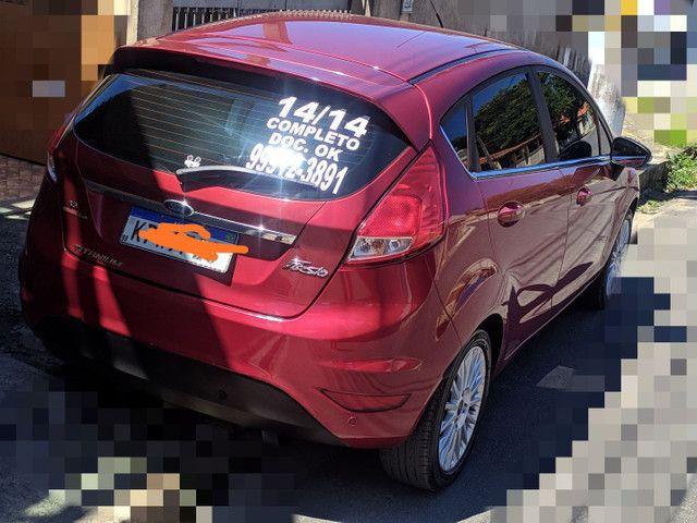 ?Ford New Fiesta Titanium 1.6 Flex 2014. Automático - Foto 2