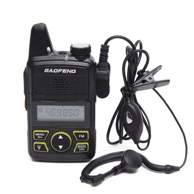 Baofeng Walkie Talkie Bf-t1 Mini Rádio Uhf 400-480mhz - Foto 3