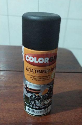 spray de Alta temperatura, na cor preta - Foto 2