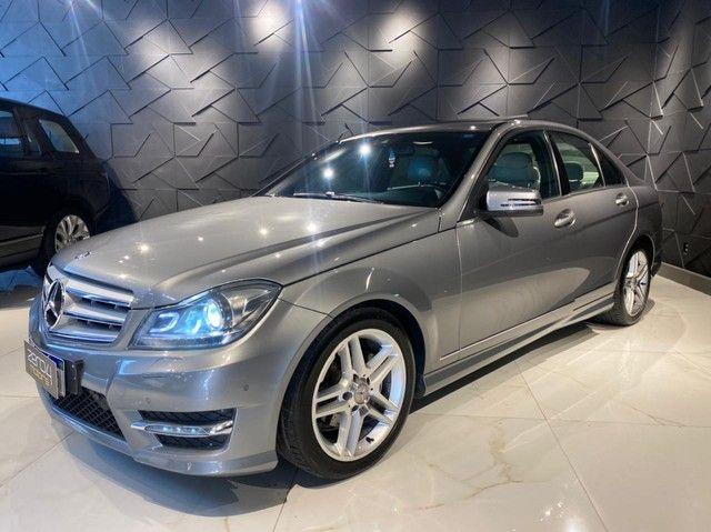 Mercedes-Benz C250 CGI SPORT 1.8 16V TB Automático 2013/2013 configuração Linda  - Foto 16