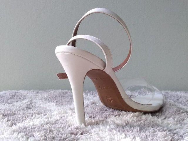 Combo sandálias bico folha (dois pares ) - Foto 3