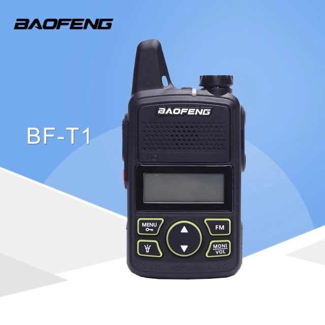 Baofeng Walkie Talkie Bf-t1 Mini Rádio Uhf 400-480mhz - Foto 4