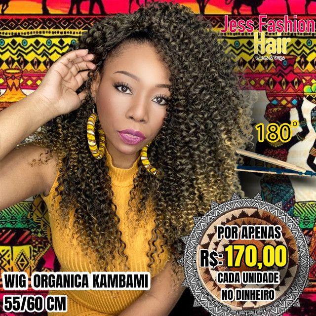 Wig KamBami fibra Futura R$:170,00 - Foto 5