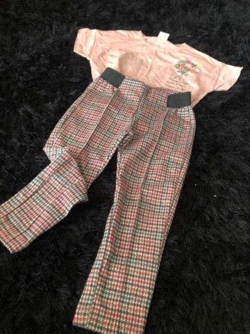 Conjunto Zara (calça e blusa)