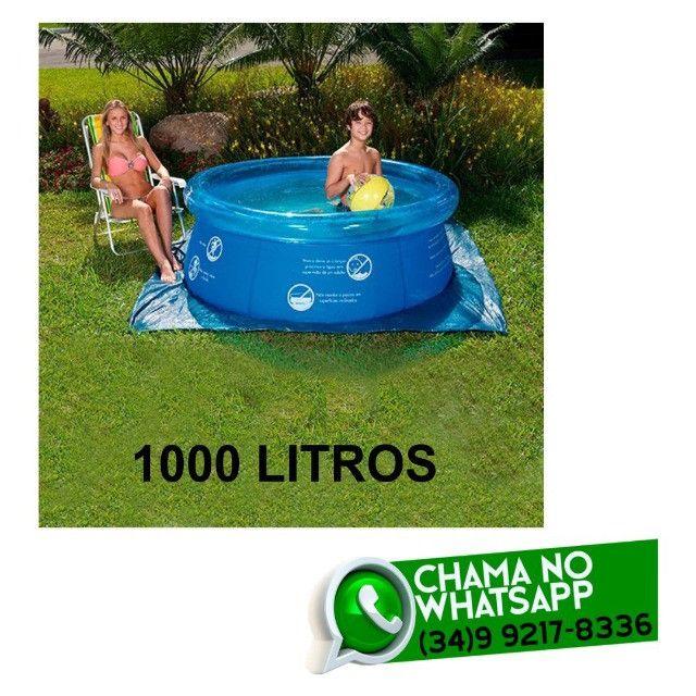 Piscina 1000 litros - Fazemos Entregas