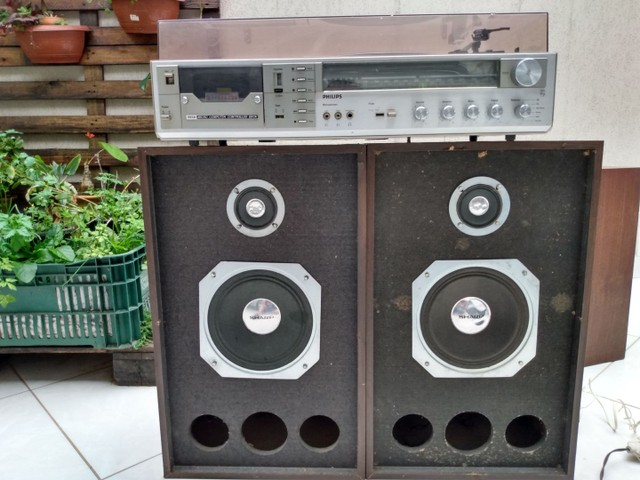 3 em 1 Philips com caixas de