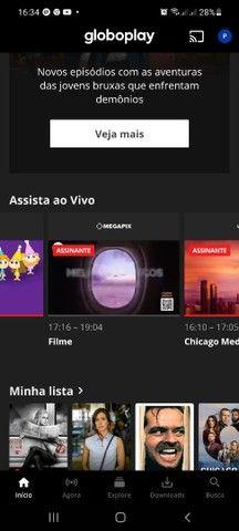Globo netflix e telecine dou esses serviços pra quem botar meu código no kwai - Foto 2