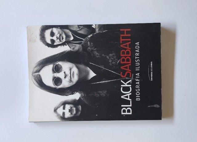 Livro Black Sabbath - Biografia Ilustrada