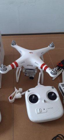 Drone Phatom 3 Standard.Com 30 Voos. Zerado - Foto 2