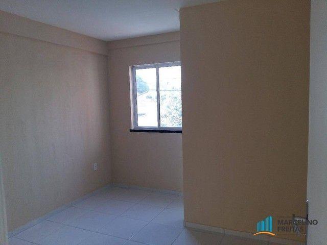 Apartamento com 2 dormitórios para alugar, 67 m² por R$ 1.309,00/mês - Vila União - Fortal - Foto 6